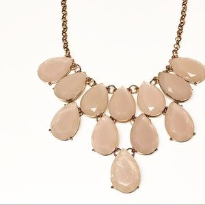 NY&Co • Rose Gold & Pink Statement Necklace